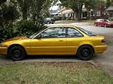 Picture Of 1991 Acura Integra Ls Hatchback Exterior