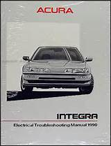 1990 Acura Integra Electrical Troubleshooting Manual Original