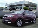 2013 Acura Mdx Sh Awd W Tech Awd Sh Awd 4dr Suv W Technology Package