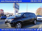 Acura Mdx Awd 4dr Suv 2009 For Sale In Edgemere Massachusetts