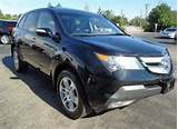 Sell Used 2009 Acura Mdx Suv Navigation Htd Leather Sunroof Camera In