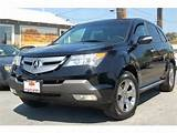 2009 Acura Mdx 3 7l Sport Package Fremont Ca