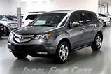 Image Of A Grey 2009 Acura Mdx Technology Package