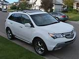 2007 Acura Mdx Elite Package With 2 Sets Rims Tires Suv In Calgary