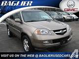 2004 Acura Mdx Sport Utility For Sale In Butler Pennsylvania