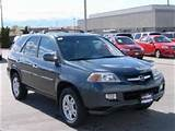 2004 Acura Mdx Touring Package W Navigation System