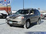 Used 2003 Acura Mdx 4dr Suv Touring Pkg 3 5l 6cyl Awd