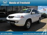 2002 Acura Mdx Suv 4dr Suv Touring Pkg W Navigation For Sale In East