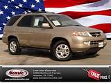 Used 2002 Acura Mdx Touring Pkg 4dr Suv Suv Houston