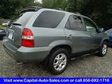2001 Acura Mdx Touring In Vineland Nj 2hnyd18851h512884