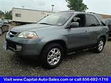 2001 Acura Mdx Touring For Sale In Vineland Nj 2hnyd18851h512884