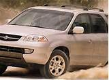 2001 Acura Mdx Suv Front Left