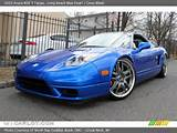 2005 Acura Nsx T Targa In Long Beach Blue Pearl Click To See Large