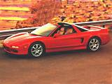 1996 Acura Nsx T Base 2dr Coupe 1996 Acura Nsx T Open Top 2dr Coupe