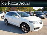 New 2016 Acura Rdx Fwd 4dr Advance Pkg With Navigation