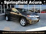 Pre Owned 2013 Acura Rdx Awd 4dr Tech Pkg Sport Utility In Springfield