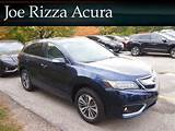 New 2016 Acura Rdx Awd 4dr Advance Pkg With Navigation