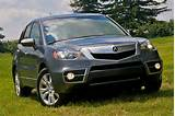 2012 Acura Rdx Smart Addition In Pact Cross Over Suvs