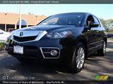 2011 Acura Rdx Sh Awd In Crystal Black Pearl Click To See Large Photo