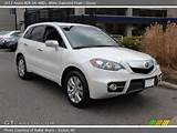 2011 Acura Rdx Sh Awd In White Diamond Pearl Click To See Large Photo