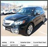 2011 Acura Rdx Sh Awd Suv Power Driver Seat Aluminum Wheels Cd