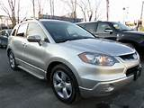 2009 Acura Rdx Base W Tech Awd 4dr Suv W Technology Package Ozone