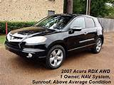 2007 Acura Rdx Sh Awd W Tech 4dr Suv W Technology Package In Quitman