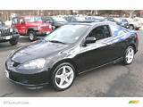 Nighthawk Black Pearl 2006 Acura Rsx Type S Sports Coupe Exterior