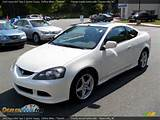 2005 Acura Rsx Type S Sports Coupe Taffeta White Titanium Photo 1
