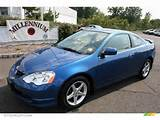 2004 Acura Rsx Type S Sports Coupe Arctic Blue Pearl Color Ebony