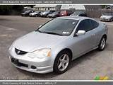 Silver Metallic 2003 Acura Rsx Type S Sports Coupe With Ebony Interior