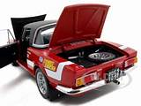 New 1 18 Scale Diecast Model Of Fiat 124 Abarth 9 1 18 1971 Rally