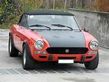 Fiat 124 Csa Abarth Rally Spider