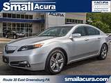 2013 Acura Tl Sh Awd Silver Moon In Gbg Pennsylvania