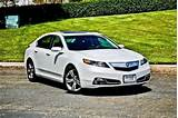 New 2012 Acura Tl Sh Awd With Technology Package White Sedan