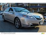 2011 Tl 3 7 Sh Awd Technology Paladium Silver Pearl Ebony Black