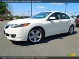 2009 Acura Tsx Sedan In Premium White Pearl Click To See Large Photo