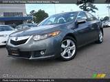 2009 Acura Tsx Sedan In Polished Metal Metallic Click To See Large