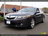 2009 Acura Tsx Sedan In Grigio Metallic Click To See Large Photo