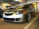 2009 Tsx Acura 4dr Sedan W Technology Package 24l 4cyl 5a Dropped