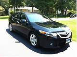 Stunning 2009 Black Acura Tsx With Tech Package 049613 Mi For Sale