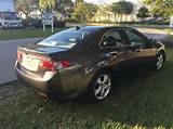2009 Acura Tsx Base W Tech 4dr Sedan 5a W Technology Package In Davie