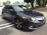 2012 Acura Tsx Base W Tech 4dr Sedan W Technology Package