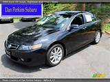 2008 Acura Tsx Sedan In Nighthawk Black Pearl Click To See Large