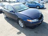 Lot 22542465 2007 Acura Tsx 2 4l 4 For Sale At Copart Auto Auction