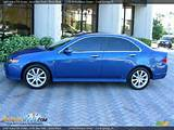 Arctic Blue Pearl 2006 Acura Tsx Sedan Photo 2 Dealerrevs