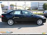 2006 Acura Tsx Sedan Nighthawk Black Pearl Parchment Photo 8