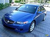 Arctic Blue Pearl 2006 Acura Tsx Sedan Exterior Photo 24582591