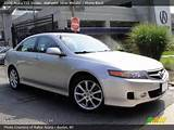 2006 Acura Tsx Sedan In Alabaster Silver Metallic Click To See Large