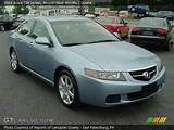 2005 Acura Tsx Sedan In Meteor Silver Metallic Click To See Large